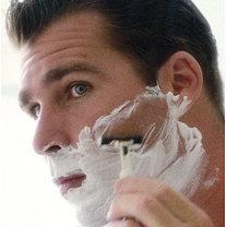 skóra podrażniona przy goleniu