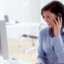 telefoniczna rozmowa z klientem