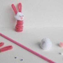 ozdoby wielkanocne - króliczek