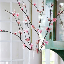 wiosenne ozdoby - gałązki wiśni
