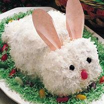 królik - ciasto wielkanocne
