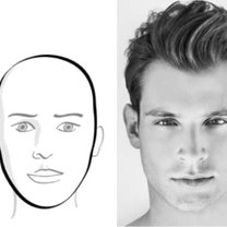 twarz owalna