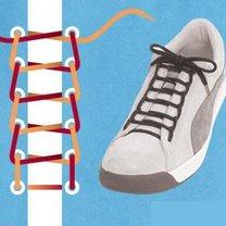 sznurówki - drabina