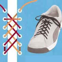 sznurówki - podwójny grzbiet.