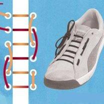sznurówki - jednostronna drabinka.