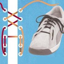 sznurówki - worek na buty.