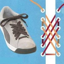sznurówki - kratka.