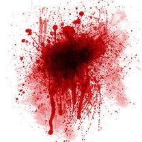 plama z krwi