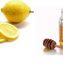 cytryna + miód = domowa maseczka nawilżająca