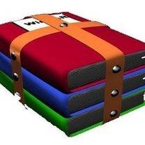 pakowanie plików WinRARem