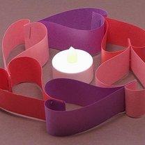 świecznik będzie gotowy, gdy wstawisz wewnątrz niego lampion