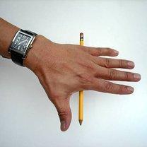 sztuczka z ołówkiem