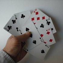 sztuczka z kartami - krok 5.