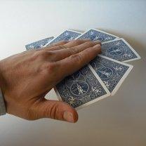 sztuczka z kartami - krok 6.