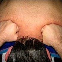 masaż żuchwy - krok 3.
