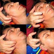 masaż żuchwy - krok 9.