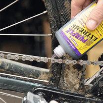smarowanie łańcucha rowerowego
