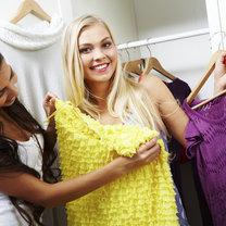 kolory ubrań - fioletowy