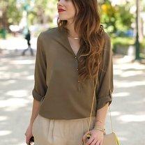 kolory ubrań - khaki