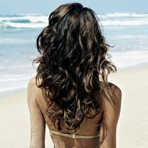włosy narażone na działanie słońca