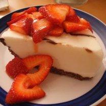 mrożony deser truskawkowy