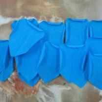 róże z papieru - krok 6.