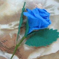 róże z papieru - krok 26.