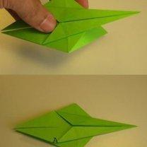 smok origami - krok 6.