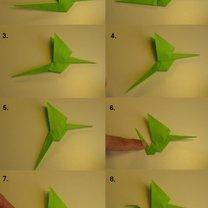smok origami - krok 11.
