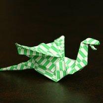 smok origami