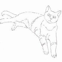 rysowanie kota - krok 4.