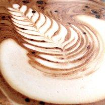 wzorki na kawie