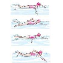 pływanie kraulem