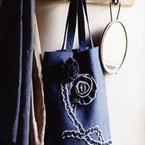 jeansowa torba ekologiczna