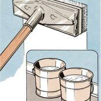 czyszczenie ściany przed malowaniem