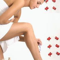 sposoby na podrażnienia po goleniu - krok 1