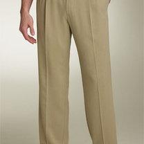 spodnie męskie - mężczyzna wysoki i postawny