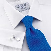 proponowany krawat do białej koszuli