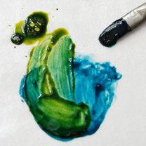 mieszanie farb do szkła