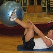 ćwiczenia mięśni brzucha - 1.