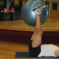 ćwiczenia mięśni brzucha - 2.