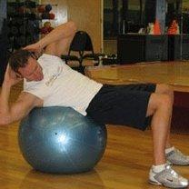 ćwiczenia mięśni brzucha - 3.
