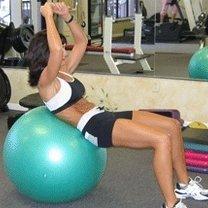 ćwiczenia mięśni brzucha - 8.