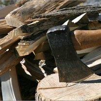 rąbanie drewna