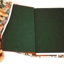 okładka na książkę - krok 6.
