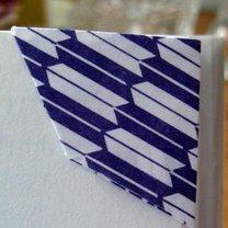 trójkątna zakładka do książki