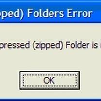 uszkodzone archiwum zip