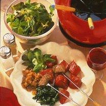 Fondue mięsne Burgundzkie