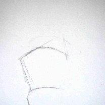 rysowanie dłoni - krok 1.