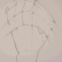 rysowanie dłoni - krok 3.